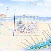 Картины и панно ручной работы. Ярмарка Мастеров - ручная работа Лето, море, пляж. Handmade.