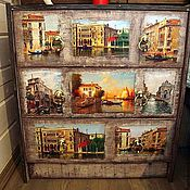 """Комоды ручной работы. Ярмарка Мастеров - ручная работа Комод """"Венеция"""". Handmade."""