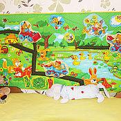 """Для дома и интерьера ручной работы. Ярмарка Мастеров - ручная работа Панно в детскую """"Лесная полянка"""". Handmade."""
