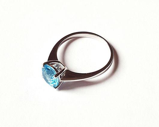 Кольца ручной работы. Ярмарка Мастеров - ручная работа. Купить Золотое кольцо с топазом. Handmade. Кольцо, кольцо с топазами, топаз
