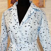 Одежда handmade. Livemaster - original item Dress striped shirt