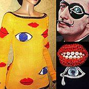 """Одежда ручной работы. Ярмарка Мастеров - ручная работа Джемпер """"Мой любимый Сальвадор 3"""". Handmade."""
