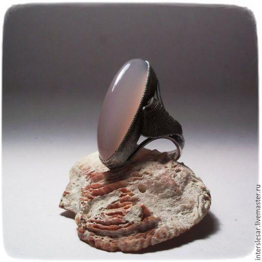 """Кольца ручной работы. Ярмарка Мастеров - ручная работа. Купить Сапфирин кольцо """"Папоротник"""". Handmade. Бледно-сиреневый, ювелирные украшения"""