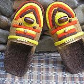 """Обувь ручной работы. Ярмарка Мастеров - ручная работа Тапочки """"Африка"""". Handmade."""