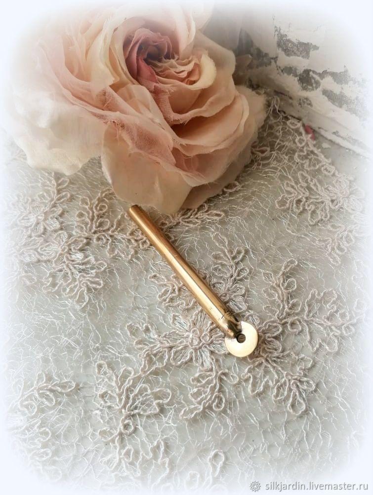 """Насадка """"копеечка"""" для изготовления цветов из ткани и кожи, Инструменты для флористики, Черноголовка,  Фото №1"""
