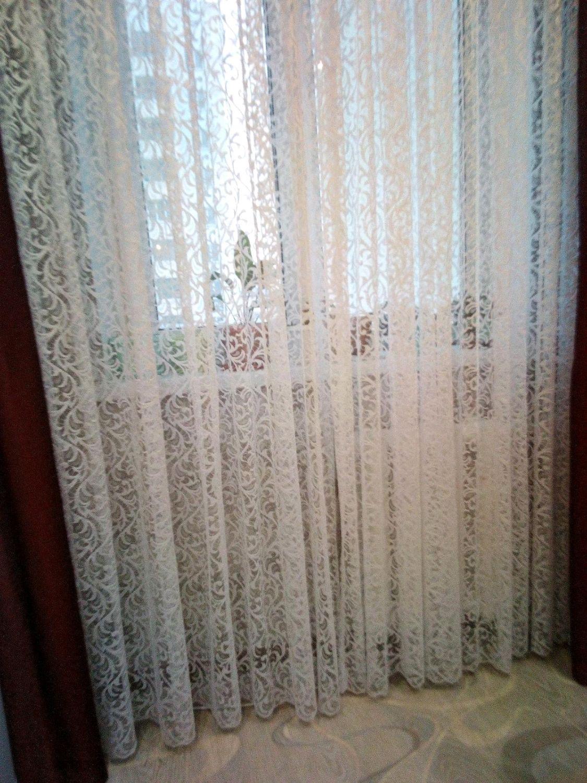 Тюль паутинка для зала фото