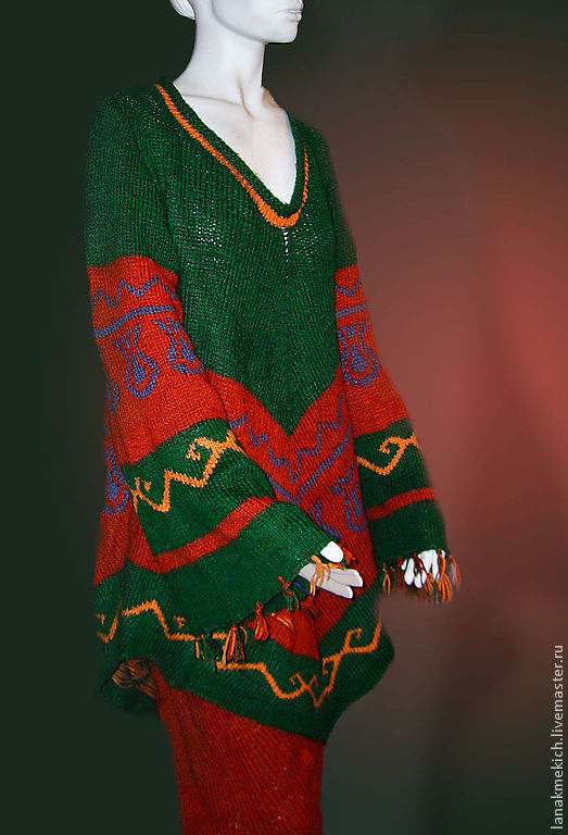 The knit suit: skirt and jacket 'Veil of Maya', Suits, Moscow,  Фото №1