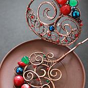 Украшения ручной работы. Ярмарка Мастеров - ручная работа шпилька-украшение для причесок. Handmade.