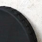 Музыкальные инструменты handmade. Livemaster - original item Black tambourine 45 studijski. Handmade.