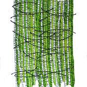 """Картины и панно ручной работы. Ярмарка Мастеров - ручная работа Панно """"Березовая роща"""". Handmade."""