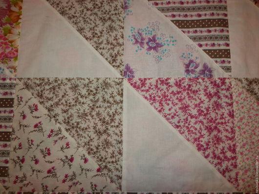 Текстиль, ковры ручной работы. Ярмарка Мастеров - ручная работа. Купить Шоколадно-черничное одеяло. Handmade. Бордовый, лоскутное одеяло