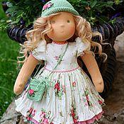 Куклы и игрушки ручной работы. Ярмарка Мастеров - ручная работа вальдорфская кукла  Лелечка 36см. Handmade.