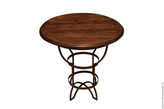 Мебель ручной работы. Ярмарка Мастеров - ручная работа. Купить Журнальный стол Olimp. Handmade. Дизайнерская мебель, дерево