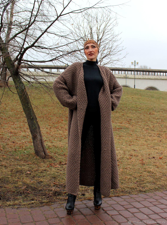 окон фото связать кардиган пальто вариант представленный фото