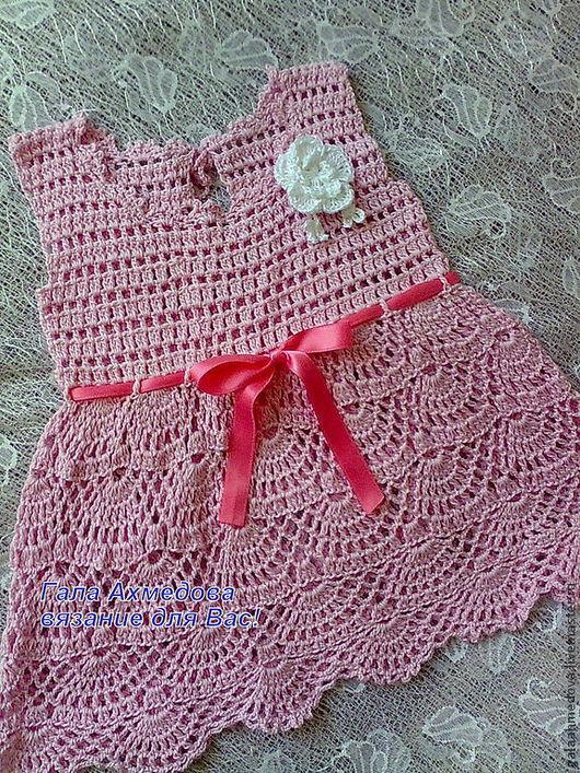 детское платье,летнее платье, вязаное ажурное платье, купить платье для девочки, платье ручной работы, детское нарядное платье,летний сарафан, для малышки, крестильное платье, на выписку,красивое плат