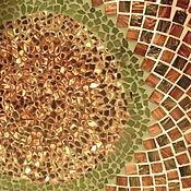 """Для дома и интерьера ручной работы. Ярмарка Мастеров - ручная работа Столик """"Панцирь черепахи"""". Handmade."""