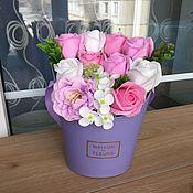 Цветы и флористика handmade. Livemaster - original item Bouquet soap. Handmade.