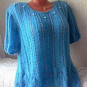 Одежда handmade. Livemaster - original item Openwork pullover