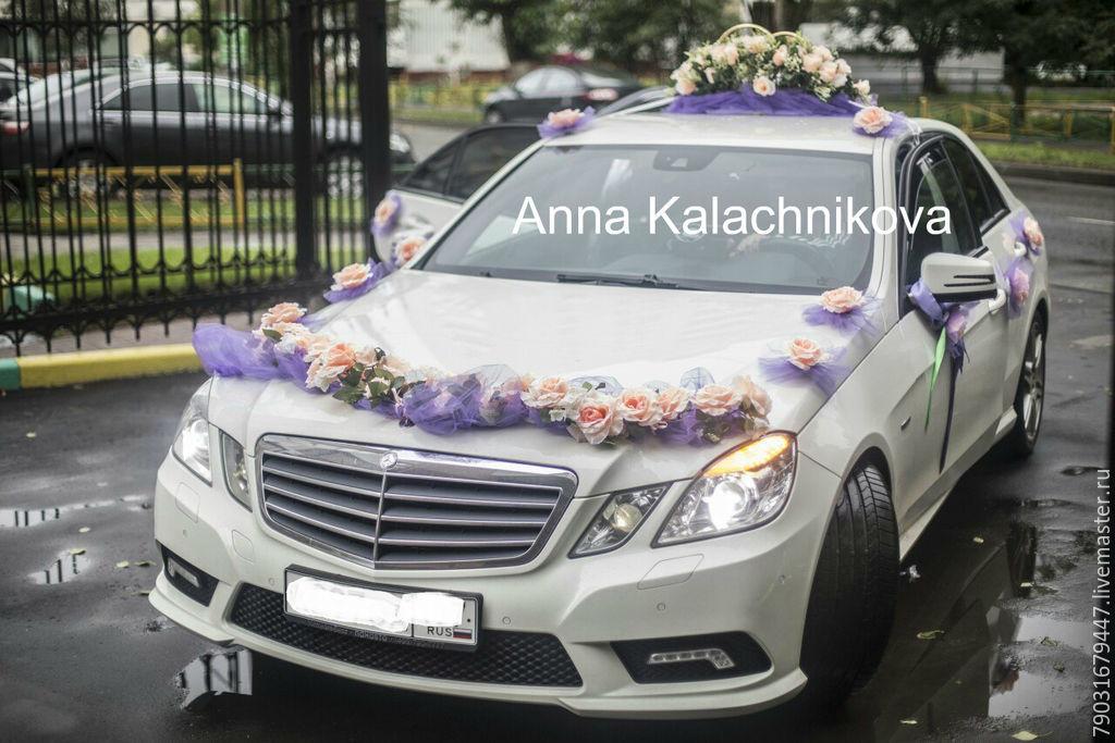Украшения на свадебные машины на присосках 154