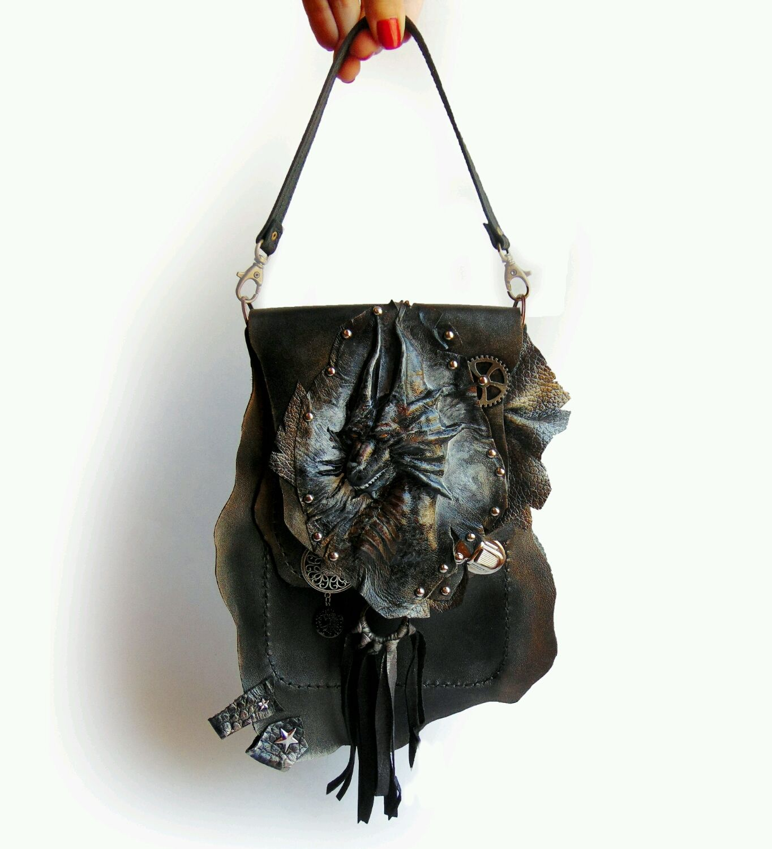 Сумка кожаная мужская планшет Дракон, Сумки, Самара, Фото №1