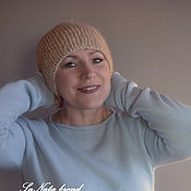 Аксессуары handmade. Livemaster - original item Knitted hat female. Handmade.