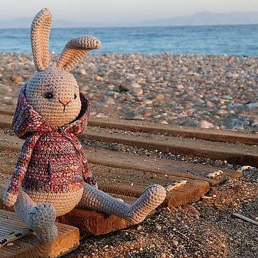 Куклы и игрушки ручной работы. Ярмарка Мастеров - ручная работа Заяц Сашка. Handmade.