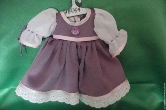 Одежда для кукол ручной работы. Ярмарка Мастеров - ручная работа. Купить Платье для куклы. Handmade. Одежда для кукол, платье для куклы