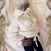 """Одежда ручной работы. Ярмарка Мастеров - ручная работа Вязаный свитер """"Shining Skull"""" от Olga Lace.. Handmade."""