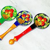 Сувениры и подарки handmade. Livemaster - original item Spoon, a rolling pin, magnet. Handmade.
