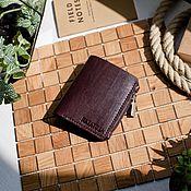 Сумки и аксессуары handmade. Livemaster - original item Wallet men`s leather - LEVI. Handmade.