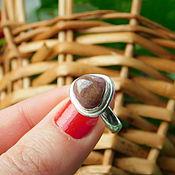 Украшения handmade. Livemaster - original item Silver Tourmaline Ring. Handmade.
