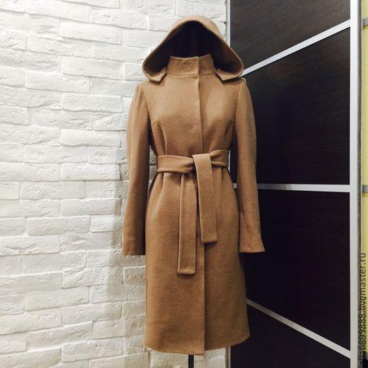 """Верхняя одежда ручной работы. Ярмарка Мастеров - ручная работа. Купить Пальто """"Классическое"""". Handmade. Бежевый, драп"""