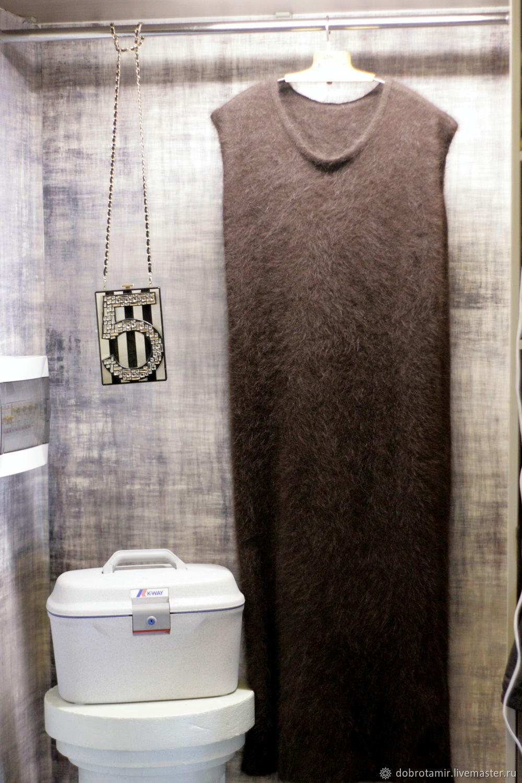 Long sundress chocolate color, Sundresses, Ekaterinburg,  Фото №1