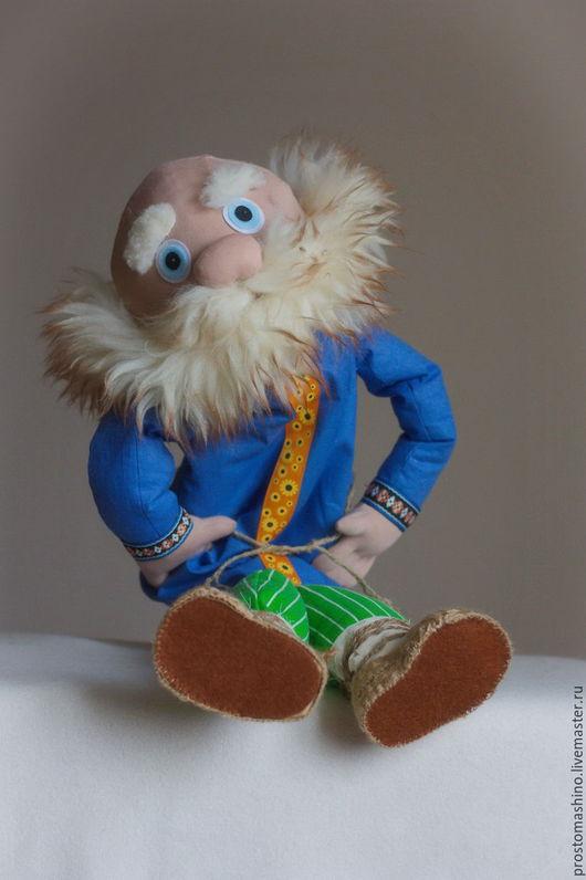 Кукольный театр ручной работы. Ярмарка Мастеров - ручная работа. Купить А дедок еще тот!. Handmade. Планшетная кукла