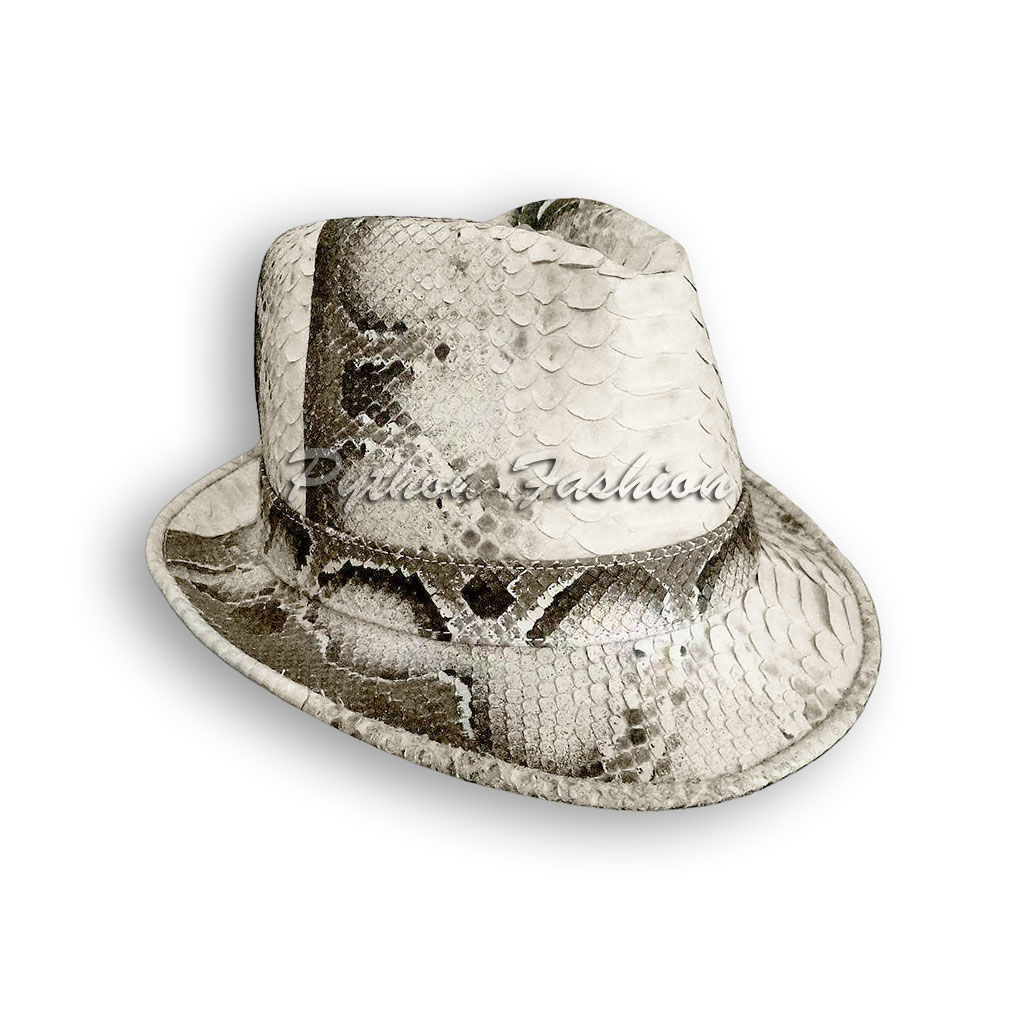 Hat from Python. Classic hat Python. Hat Trilby from Python. Trilby. 1f93d48a306