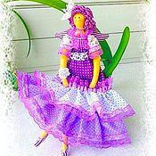Куклы и игрушки ручной работы. Ярмарка Мастеров - ручная работа Лавандовая Фея_ Кукла в стиле Тильда. Handmade.