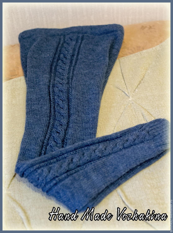 Вязание спицами со схемами шапочки