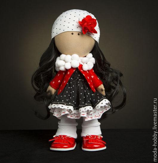 """Куклы и игрушки ручной работы. Ярмарка Мастеров - ручная работа. Купить Набор для шитья """"Малышка Бэти"""" Модное Хобби. Handmade."""