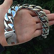 Украшения handmade. Livemaster - original item Men`s bracelet jewelry steel. Handmade.