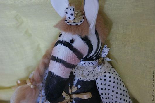 Игрушки животные, ручной работы. Ярмарка Мастеров - ручная работа. Купить Зебра Зоя. Handmade. Зебра, интерьерная игрушка