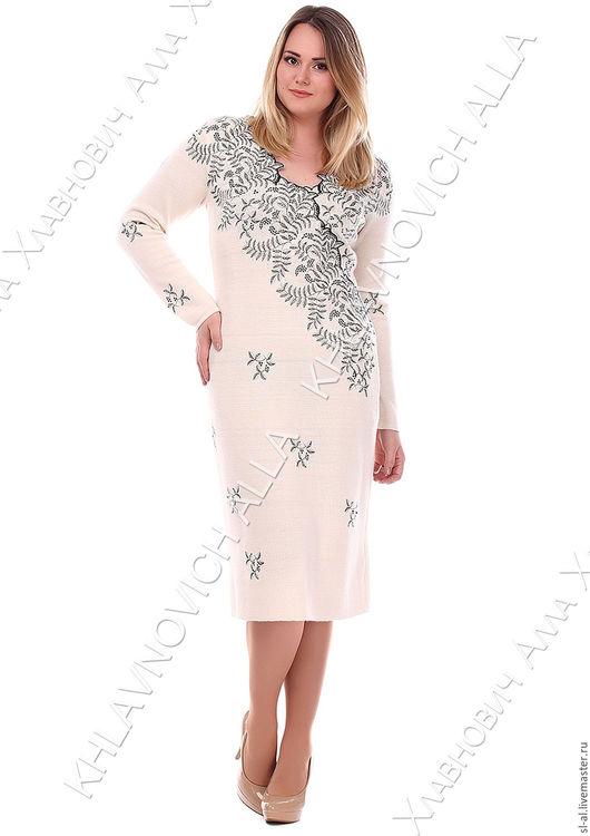 """Платья ручной работы. Ярмарка Мастеров - ручная работа. Купить Платье """"Изморозь"""" модель №23-В. Handmade. Платье нарядное"""