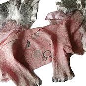 Аксессуары ручной работы. Ярмарка Мастеров - ручная работа Палантин с рукавами Часики. Handmade.