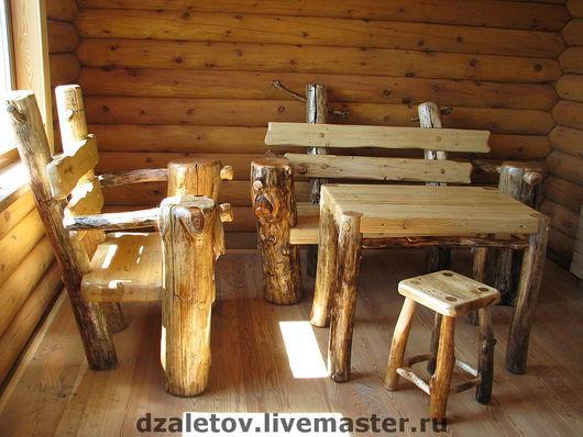 Мебель ручной работы. Ярмарка Мастеров - ручная работа. Купить Мебель для загородного дома. Handmade. Мебель для дачи, ландшафтная мебель