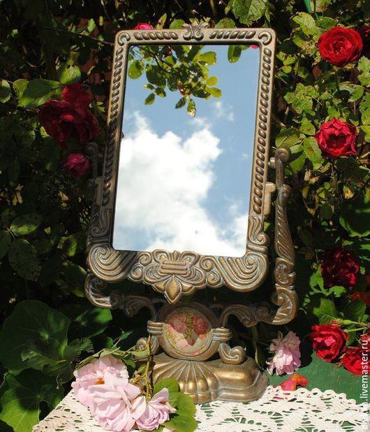 """Зеркала ручной работы. Ярмарка Мастеров - ручная работа. Купить Зеркало-псише """"Сад воспоминаний"""". Handmade. Зеркало, подарок женщине"""