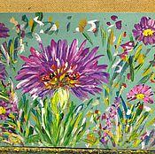 Картины и панно handmade. Livemaster - original item my favorite flower.. Handmade.