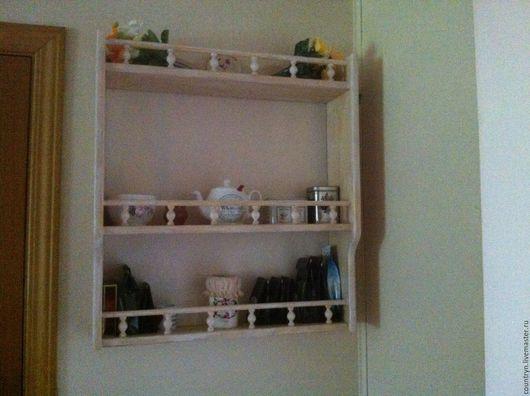 """Мебель ручной работы. Ярмарка Мастеров - ручная работа. Купить Полка """"Французская кухня"""". Handmade. Комбинированный, прованс, интерьер для дачи"""