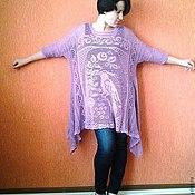 Одежда ручной работы. Ярмарка Мастеров - ручная работа туника в стиле бохо. Handmade.