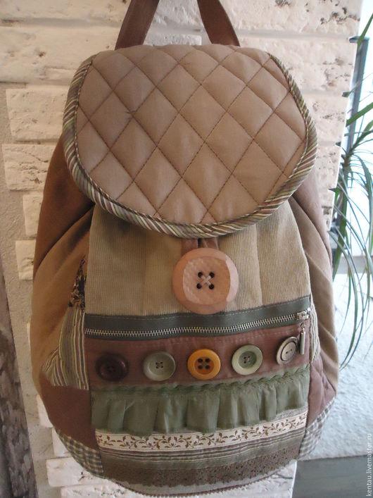 """Рюкзаки ручной работы. Ярмарка Мастеров - ручная работа. Купить Рюкзак """"Всё и сразу!"""". Handmade. Рюкзак, рюкзак из ткани, хлопок"""