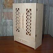 Материалы для творчества handmade. Livemaster - original item Doll`s cupboard with a drawer.298.. Handmade.
