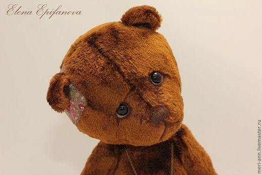 Мишки Тедди ручной работы. Ярмарка Мастеров - ручная работа. Купить Кёртис. Handmade. Коричневый, 5 шплинтов